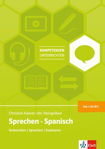 Cover Sprechen Spanisch Sek I (A2-B1) 978-3-12-525604-0 Spanisch