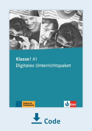Cover Klasse! A1 - Digitales Unterrichtspaket NP00860712901 Deutsch als Fremdsprache (DaF),Deutsch als Zweitsprache (DaZ)