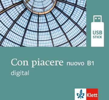 Cover Con piacere nuovo B1 digital 978-3-12-525214-1 Italienisch