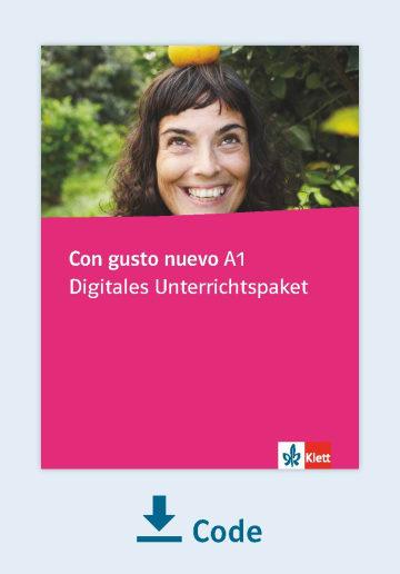 Cover Con gusto nuevo A1 - Digitales Unterrichtspaket NP00851467601 Spanisch
