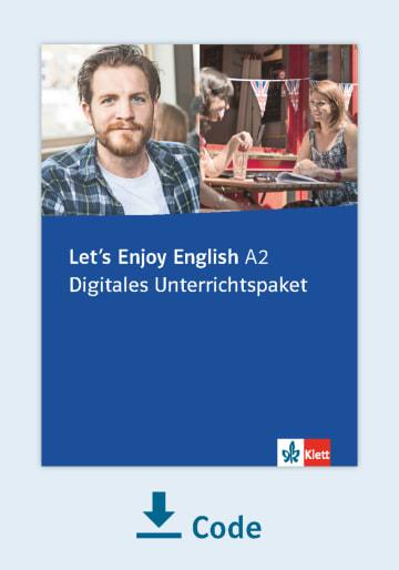 Cover Let's Enjoy English A2 - Digitales Unterrichtspaket NP00850165101 Englisch