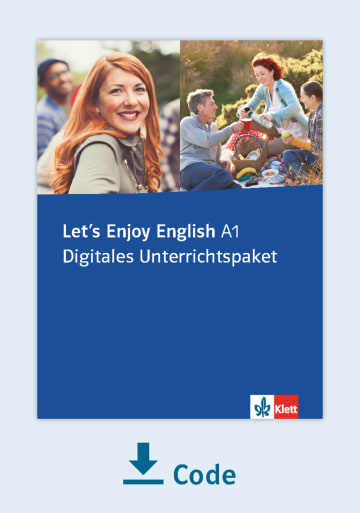 Cover Let's Enjoy English A1 - Digitales Unterrichtspaket NP00850165001 Englisch