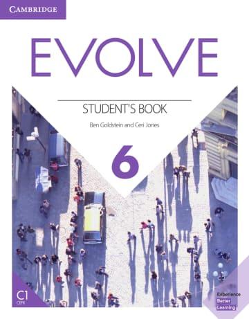 Cover Evolve 6 (C1) 978-3-12-540470-0 Englisch