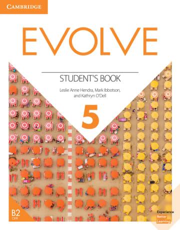 Cover Evolve 5 (B2) 978-3-12-540464-9 Englisch