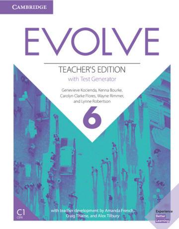 Cover Evolve 6 (C1) 978-3-12-540473-1 Englisch