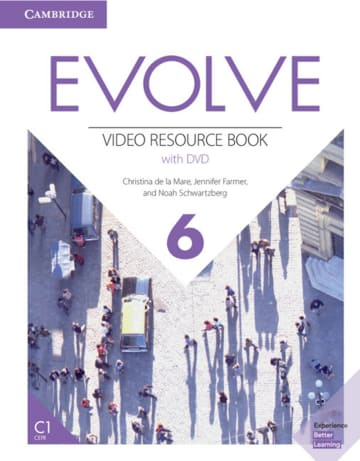Cover Evolve 6 (C1) 978-3-12-540475-5 Englisch