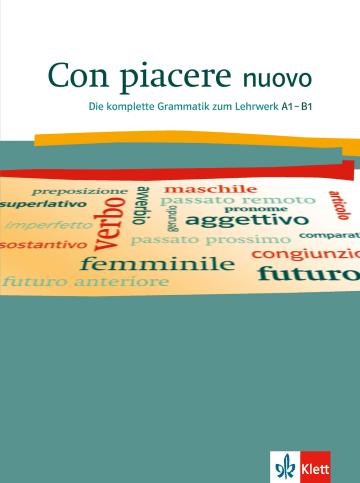 Cover Con piacere nuovo 978-3-12-525218-9 Italienisch