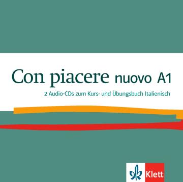 Cover Con piacere nuovo A1 978-3-12-525215-8 Italienisch
