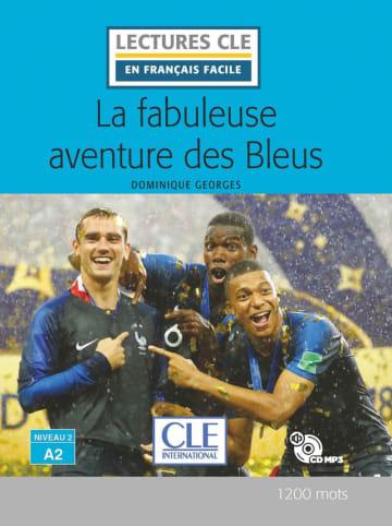 Cover La fabuleuse aventure des bleus 978-3-12-593253-1 Dominique Georges Französisch