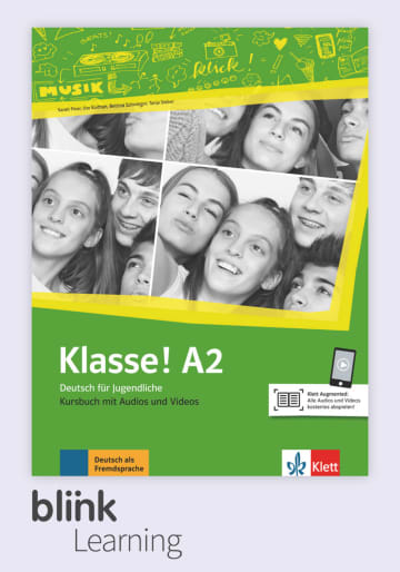 Cover Klasse! A2 - Digitale Ausgabe mit LMS NP00860713190 Deutsch als Fremdsprache (DaF),Deutsch als Zweitsprache (DaZ)