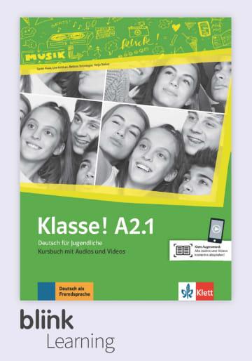 Cover Klasse! A2.1 - Digitale Ausgabe mit LMS NP00860713390 Deutsch als Fremdsprache (DaF),Deutsch als Zweitsprache (DaZ)