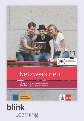 Cover Netzwerk neu A1.2 - Digitale Ausgabe mit LMS NP00860715591 Deutsch als Fremdsprache (DaF)