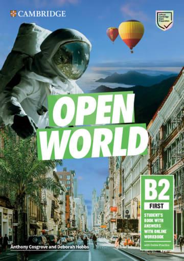 Cover Open World First 978-3-12-540608-7 Englisch