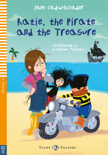 Cover Katie, the Pirate and the Treasure 978-3-12-515224-3 Jane Cadwallader Englisch