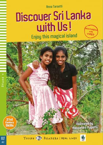 Cover Discover Sri Lanka with Us! 978-3-12-515222-9 Anna Tarsetti Englisch