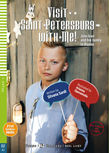 Cover Visit Saint Petersburg with Me! 978-3-12-515223-6 Silvana Sardi Englisch
