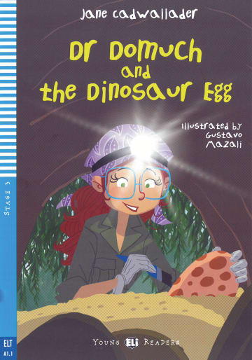 Cover Dr Domuch and the Dinosaur Egg 978-3-12-515225-0 Jane Cadwallader Englisch