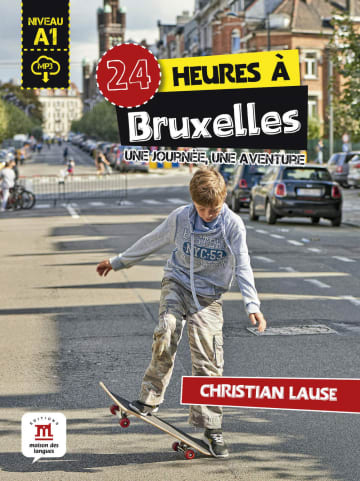 Cover 24 heures à Bruxelles 978-3-12-500311-8 Christian Lause Französisch