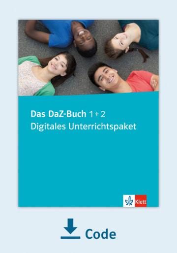Cover Das DaZ-Buch 1 + 2 - Digitales Unterrichtspaket NP00866687001 Deutsch als Zweitsprache (DaZ)