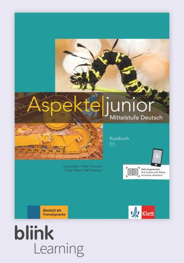 Cover Aspekte junior C1 - Digitale Ausgabe mit LMS NP00860525890 Deutsch als Fremdsprache (DaF),Deutsch als Zweitsprache (DaZ)