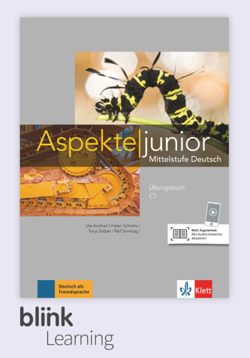 Cover Aspekte junior C1 - Digitale Ausgabe mit LMS NP00860525990 Deutsch als Fremdsprache (DaF),Deutsch als Zweitsprache (DaZ)