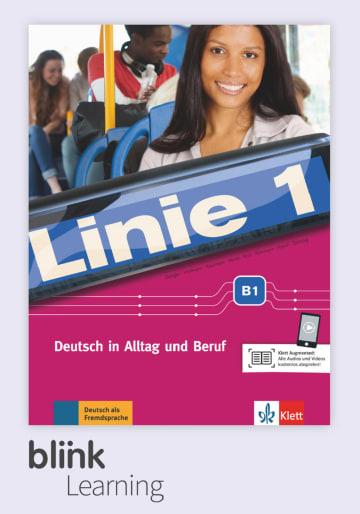 Cover Linie 1 B1 - Digitale Ausgabe mit LMS NP00860709490 Deutsch als Fremdsprache (DaF),Deutsch als Zweitsprache (DaZ)