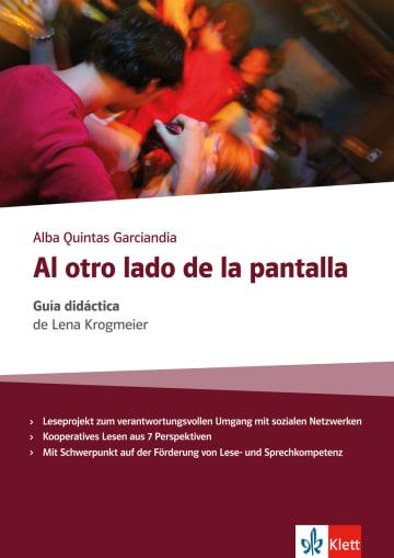Cover Al otro lado de la pantalla 978-3-12-535726-6 Lena Krogmeier, Alba Quintas Garciandia Spanisch