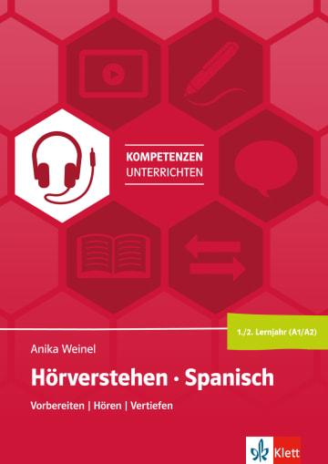 Cover Hörverstehen Spanisch 1./2./3. Lernjahr (A1-A2) 978-3-12-525608-8 Spanisch