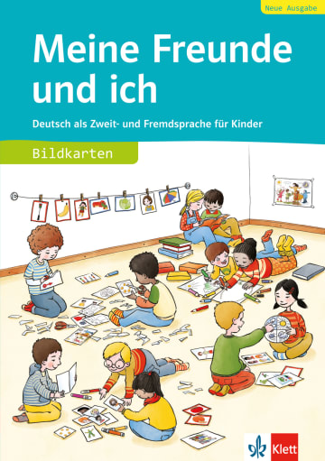 Cover Meine Freunde und ich, Neue Ausgabe 978-3-12-666834-7 Deutsch als Fremdsprache (DaF),Deutsch als Zweitsprache (DaZ)