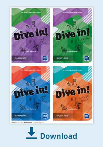 Cover Dive in! Teacher's Notes - all 4 modules in one NP00810000300 Englisch