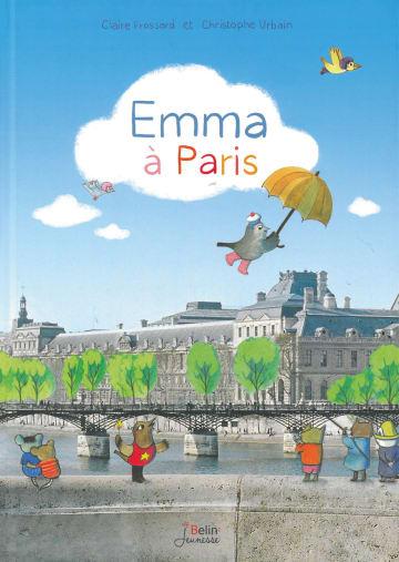 Cover Emma à Paris 978-3-12-590013-4 Claire Frossard, Christophe Urbain Französisch