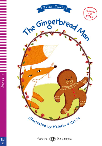Cover The Gingerbread Man 978-3-12-515244-1 Lisa Suett Englisch
