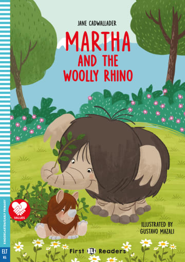 Cover Martha and the Woolly Rhino 978-3-12-515232-8 Jane Cadwallader Englisch