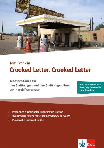 Cover Crooked Letter, Crooked Letter 978-3-12-579910-3 Englisch