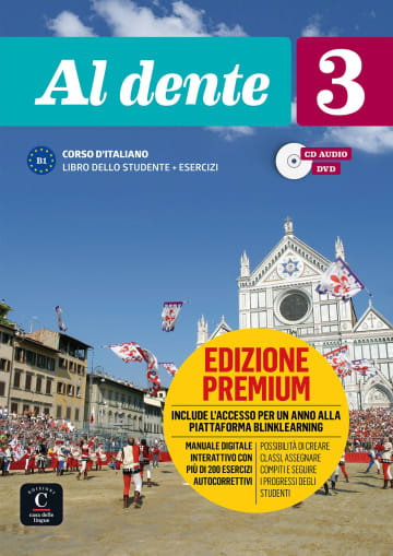 Cover Al dente 3 (B1) 978-3-12-525396-4 Italienisch