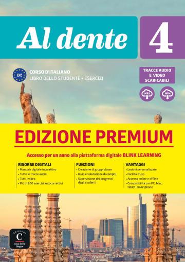 Cover Al dente 4 (B2) 978-3-12-525397-1 Italienisch