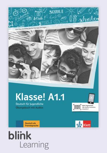 Cover Klasse! A1.1 - Digitale Ausgabe mit LMS NP00860712391 Deutsch als Fremdsprache (DaF),Deutsch als Zweitsprache (DaZ)