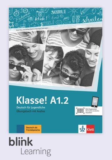 Cover Klasse! A1.2 - Digitale Ausgabe mit LMS NP00860712491 Deutsch als Fremdsprache (DaF),Deutsch als Zweitsprache (DaZ)