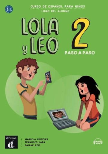 Cover Lola y Leo, paso a paso 2 978-3-12-562325-5 Spanisch