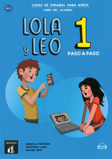 Cover Lola y Leo, paso a paso 1 978-3-12-562323-1 Spanisch