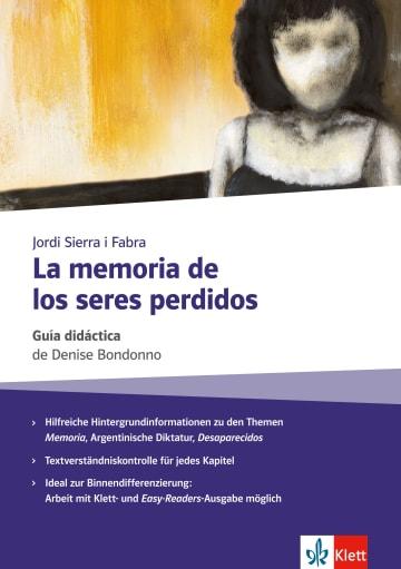 Cover La memoria de los seres perdidos 978-3-12-535777-8 Spanisch
