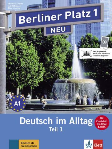 Cover Berliner Platz 1 NEU 978-3-12-606065-3 Deutsch als Fremdsprache (DaF)