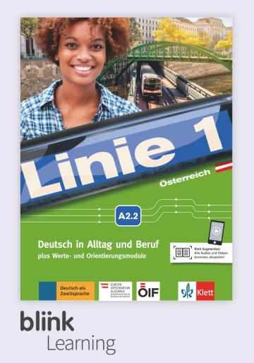 Cover Linie 1 Österreich A2.2 - Digitale Ausgabe mit LMS NP00860715001 Deutsch als Zweitsprache (DaZ)
