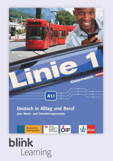 Cover Linie 1 Österreich A1.1 - Digitale Ausgabe mit LMS NP00860706401 Deutsch als Zweitsprache (DaZ)