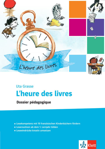 Cover L'heure des livres 978-3-12-590022-6 Französisch