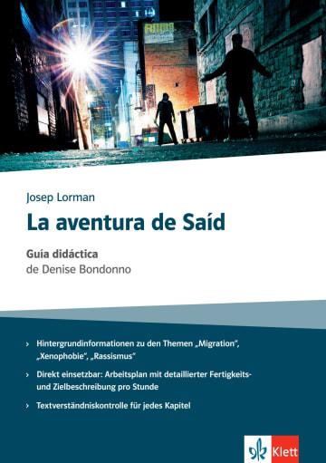 Cover La aventura de Saíd 978-3-12-535728-0 Spanisch