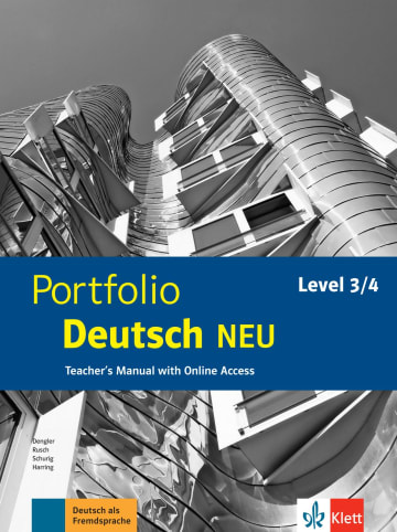 Cover Portfolio Deutsch NEU Level 3/4 978-3-12-605330-3 Deutsch als Fremdsprache (DaF)