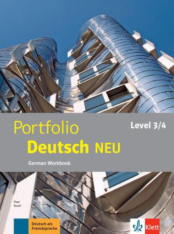 Cover Portfolio Deutsch NEU Level 3/4 978-3-12-605329-7 Deutsch als Fremdsprache (DaF)