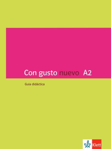 Cover Con gusto nuevo A2 978-3-12-514679-2 Spanisch