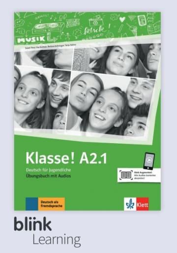 Cover Klasse! A2.1 - Digitale Ausgabe mit LMS NP00860713501 Deutsch als Fremdsprache (DaF),Deutsch als Zweitsprache (DaZ)
